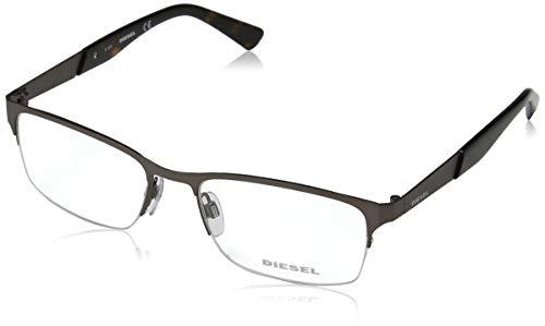 Diesel Unisex-Erwachsene Brillengestelle DL5235 013 54, Grau (RUTENIO Scuro OP)