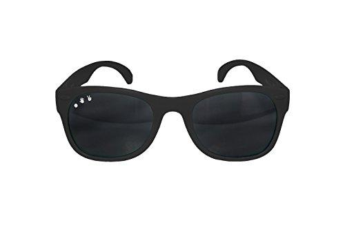 Baby und Kinder - Unbreakable Sonnenbrille UV400 - 0 - 18 Monate - Elly La Fripouille®, Lunettes Incassables, Schwarz, Bueller