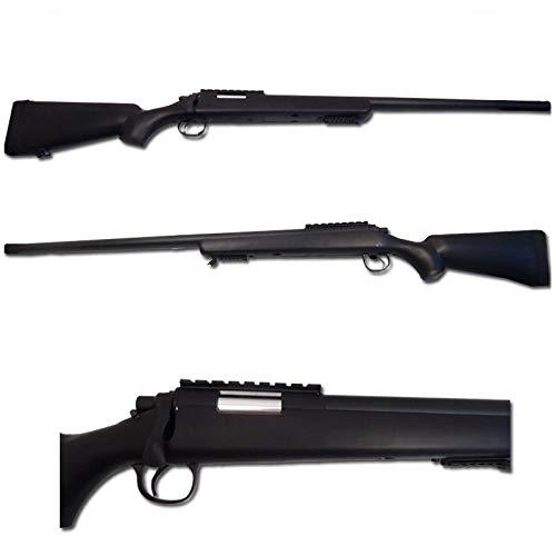 W E L L Softair Fusil À Ressort Sniper VSR10 Noir 0.5 Joule - MB03A