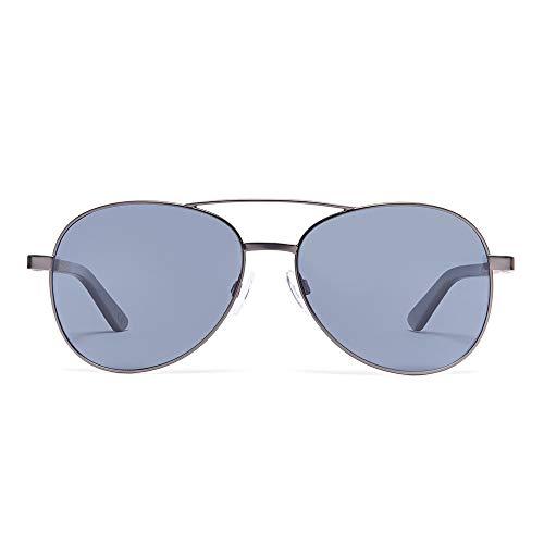 Bonizetti Unisex-Holz-Sonnenbrille Boston Newbury Street UV 400 136mm