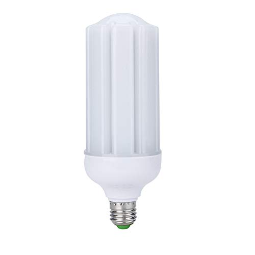 E27 LED Maislicht 20W Highlight Energiesparlampe ohne Stroboskop Augenschutz Lampe Universalspannung: 90-265 V nicht dimmbar 6000 K (Kaltweiß) (Alle Mais-chips Natürlichen)