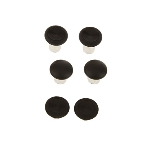 Sharplace 6pcs Swap Thumb Grips Stick Button Cap Cover Thumbsticks Griffe Ersatzteile für Xbox One Elite Controllers