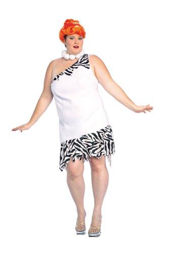 Erwachsene Wilma Feuerstein Kostüm - Flintstones Damen Kostüm Wilma Feuerstein Gr.