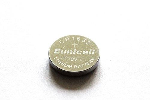 20 x CR1632 3V Lithium Knopfzelle 125 mAh lose EINWEG Markenware Eunicell