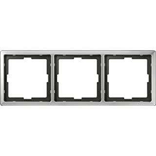 Merten 481346 ARTEC-Rahmen, 3fach, Edelstahl
