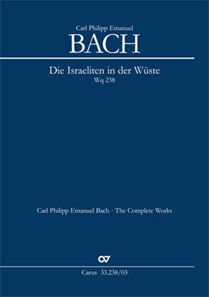 Bach: Die Israeliten in der Wüste (Wq 238). Klavierauszug