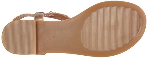 Buffalo 14bu0105 Pu, Sandales Bout ouvert femme Or (Rose 23)