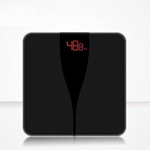 Jingzou Intelligente elektronische Waagen Hause Gesundheit Gewicht genannt High-Definition-LED Nachtsicht Körper Skala Gewicht Meter28*28CM
