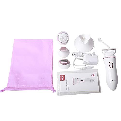 HermosaUKnight 4 in 1 elektrische Frauen-Dame Shaver Razor wiederaufladbare Wasserdichte Haar-Epilierer-weiß