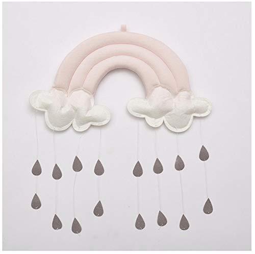 zhangjun Hängende Ornamente Nordic Rainbow 3D Raindrop Wolke Baby Zelt Kindergarten Kinder Zimmer Wanddekoration pro