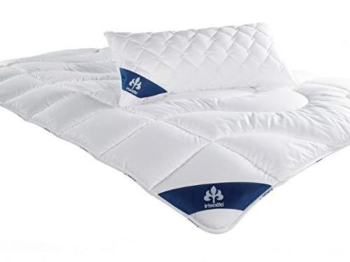 Badenia 03 632 160 140 Bettcomfort Steppbett Irisette Micro Thermo leicht, 135 x 200 cm, weiß