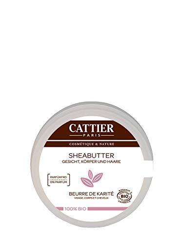 Cattier - Burro di karitè 100% biologico