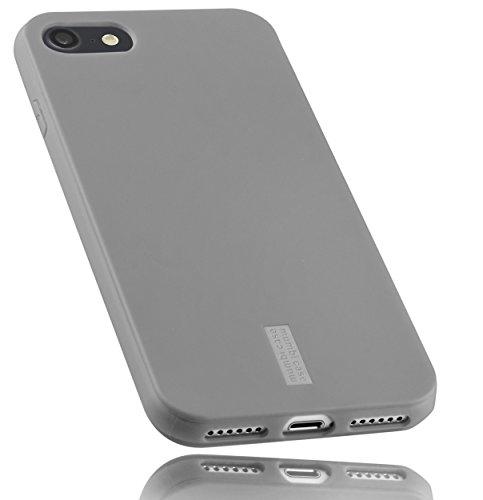 mumbi Schutzhülle für iPhone 8 / iPhone 7 Hülle grau