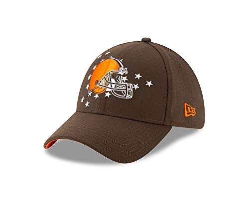 New Era Cleveland Browns 39thirty Stretch Cap NFL Draft 2019 Brown - M - L (Browns Cleveland Baseball-cap)