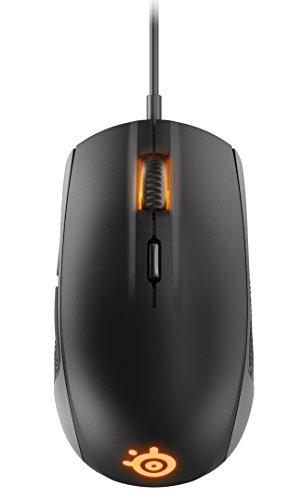 SteelSeries Rival 100 Optische Gaming-Maus (6 Tasten, RGB-Beleuchtung) schwarz - 4