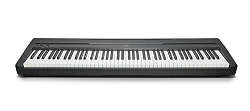 Yamaha P-45B - Piano digital (88 teclas, 64 notas), color negro