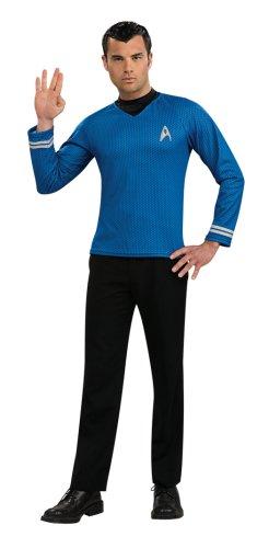 Star Trek-Shirt Spock, Größe (Blue Star Trek Kostüme)