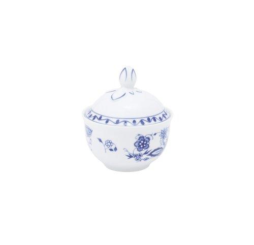 Kahla - Porcelaine pour les Sens 172001A72067U Rossella Zwiebelmuster Sucrier Bleu 10 x 11 cm