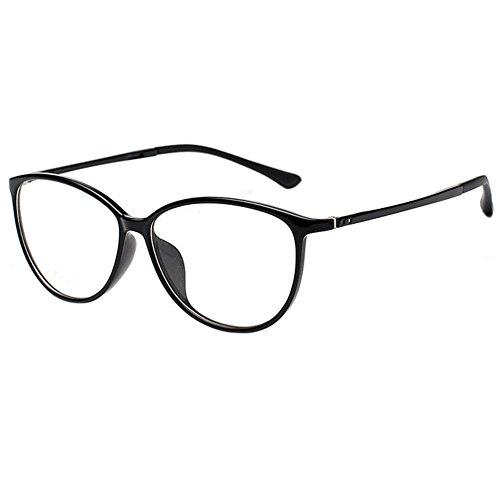Zhuhaixmy TR90 Ultraleicht Cat Eye Rand Kurzsichtigkeit Spiegel Gläser Kurzsichtig Kurzsichtig Brillen -0.5~-6.0 (Diese sind nicht Lesen Brille)