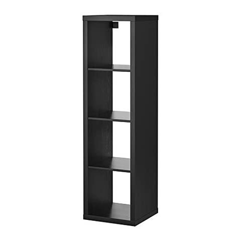 IKEA KALLAX Regal in schwarzbraun; (42x147cm); Kompatibel mit EXPEDIT