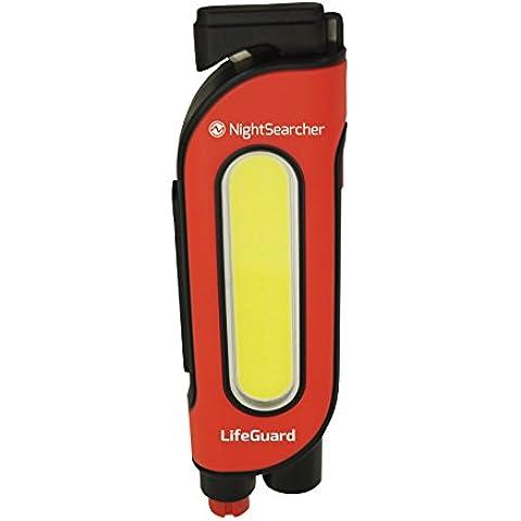 nightsearcher Lifeguard multifunzionale veicolo sicurezza LED torcia luce