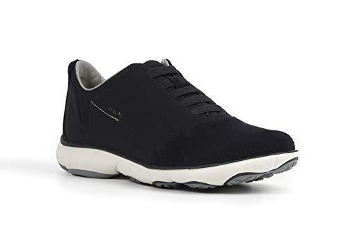 Geox Herren U NEBULA B Sneakers, Blau (NAVYC4002), 42 EU (8 Herren UK)