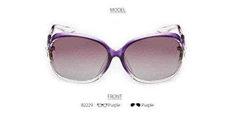 WANGMIN® Polarisierte Sonnenbrille Rosette Design Frauen Outdoor Gläser Luxus Damen Schmetterling Bunte Uv400 Schutz Eyewear , B (Gucci Damen-unterwäsche)