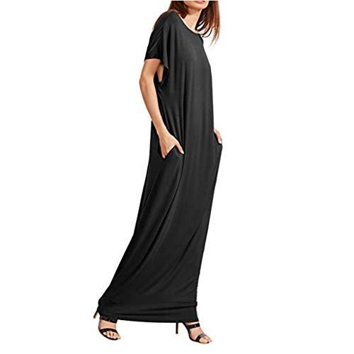 TOPSELD Kleid Kleid Damen Damen Kleid 50er Jahre Kleid Kleid Kleid mädchen Rockabilly Kleid Petticoat Kleid Kleid schwarz -