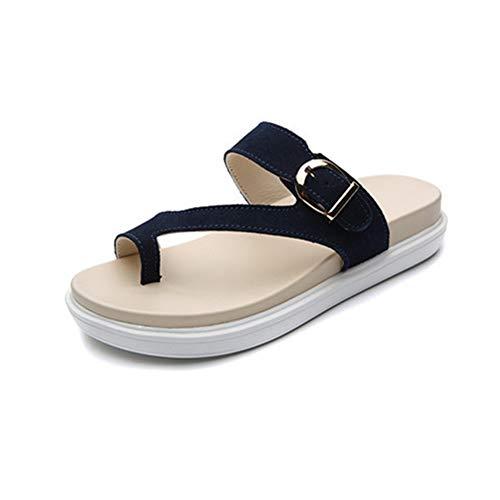 MAOMEI Elegantes Sandalias con Fondo Plano
