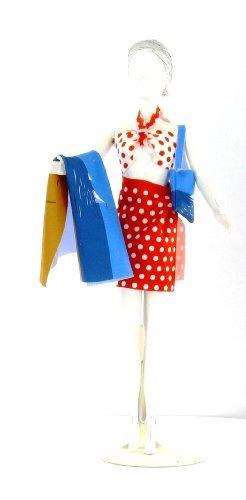MaRécréation-Nancy Dots fabriquez los Vestidos de muñeca maniquí, dress-doll-043