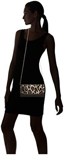 Saccess - DY15231, Borsa a spalla Donna Multicolore (leo black)