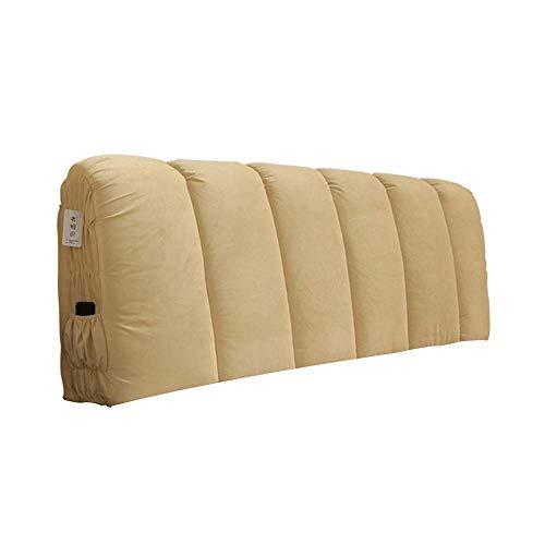 Xiao jian- cuscini per comodini - cuscino cuscino per schienale cuscino in microfibra vertebra cervicale pelle utile tampone lomboscopico per lettino rilassamento letto letto matrimoniale testiera cus