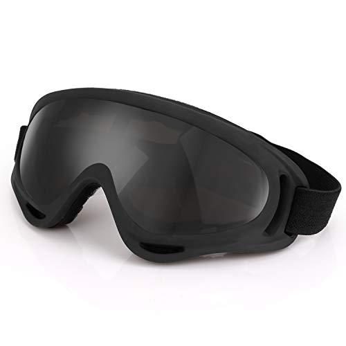 Winner Trip Motorrad - Motocross Brillen, Schutz Winddichte staubdichten Outdoor - ski - Brille für Frauen und Kinder. (Grau)