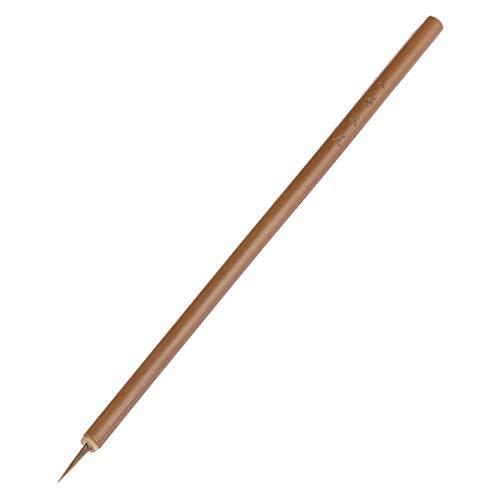 1 stück Acryl Nail art Paint Painting Pinsel Kleine Pinsel Nagel Werkzeuge Bambus Stift Pinsel Nail art Werkzeug DIY Maniküre 13mm Nützlich und Praktisch (Art Nail Paint Acryl)