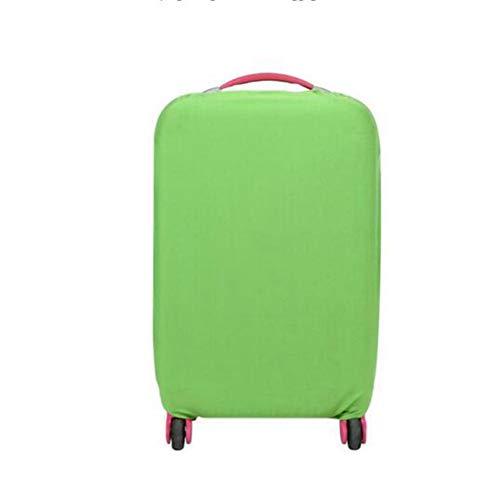 EgBert Hn-0719 Waschbares Faltbares Gepäck Cover 8 Farben 20 24 28 Inch Koffer Protektor - Grün - S