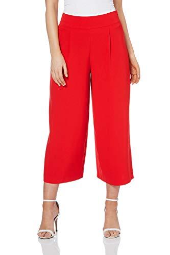 Roman Originals Damen Hosenrock in Rot Größe 38-48 - Rot - Größe 42