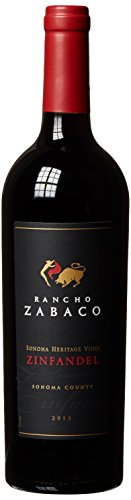 Zinfandel Wein (Rancho Zabaco Sonoma Heritage Vines Zinfandel 2014trocken (1 x 0.75 l))