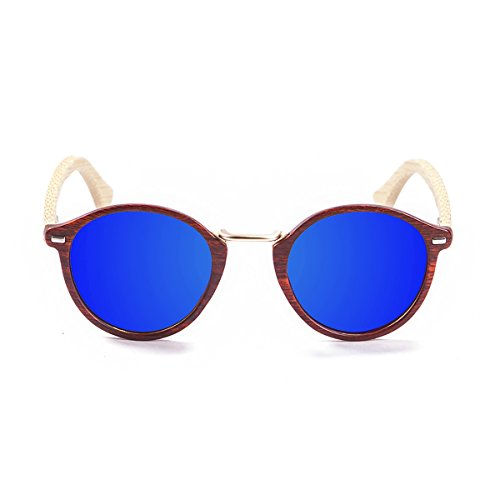 Paloalto Sunglasses Maryland Sonnenbrille Unisex Erwachsene, Brown/Bamboo Natural