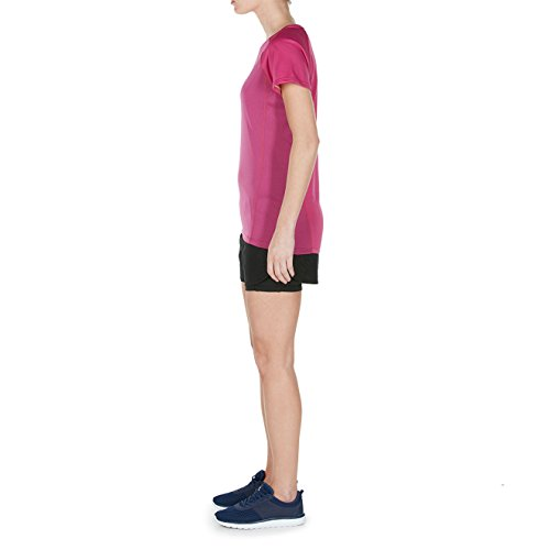 Canterbury Damen Vapodri Training T-Shirt Fuchsia Red Marl