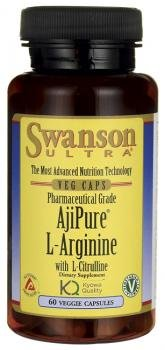 Swanson Ultra Ajipure L-Arginine with L-Citrulline by Swanson Health Products