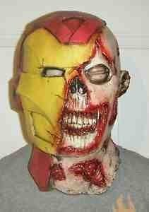 IRONMAN ADULTE LATEX MASQUE