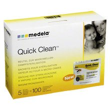MEDELA Quick Clean Beutel 5 Stück