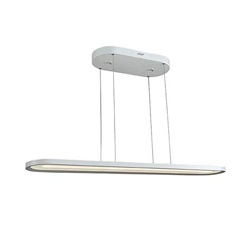 Lineares Kronleuchter-Umgebungslicht - inklusive Glühlampe, 110-120V / 220-240V, warmweißes / weißes / neutrales Licht dreifarbige dimmbare Fernbedienung, stufenloses Dimmen, LED-Leuchten,White,120cm