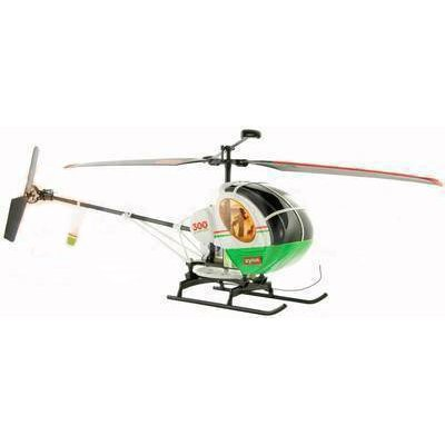 Schweizer 300 Radio Controlled Large 1:32 Scale Helicopter - Green