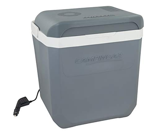 Campingaz Powerbox Plus Thermoelektrische 12V Kühlbox, Hochleistungs-Kühlbox Auto, mit UV Schutz, 28 Liter