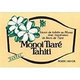 Monoi Tiare Tahiti Soap Bar Sandalwood Monoi Tiare Cosmetics 4.6 Oz Bar Soap