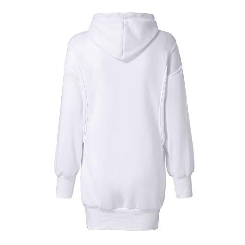 d964caf9c4fd ZEZKT Sweats à Capuche Femme, Hoodie Sport Sweat-Shirts Robe Pull ...
