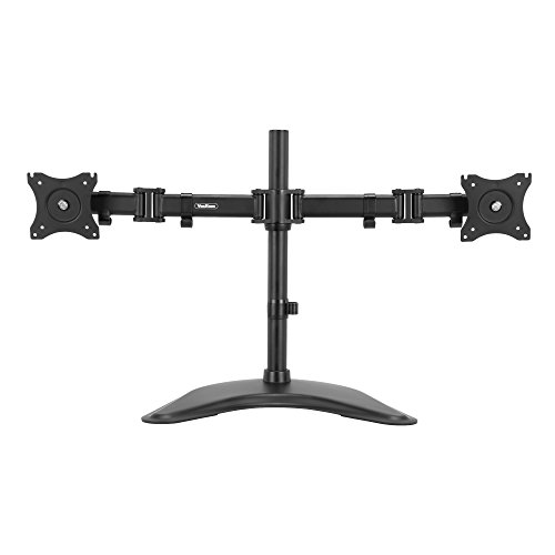 VonHaus Double Arm Monitor Desk Mount Stand Suitable for 13