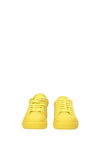BLKS11H207AY23K Pinko Sneakers Femme Cuir Jaune Jaune