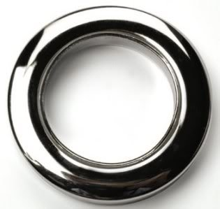 Eyelet Curtain Fabric Rings - Ideal For 16mm 19mm 25mm 28mm ...